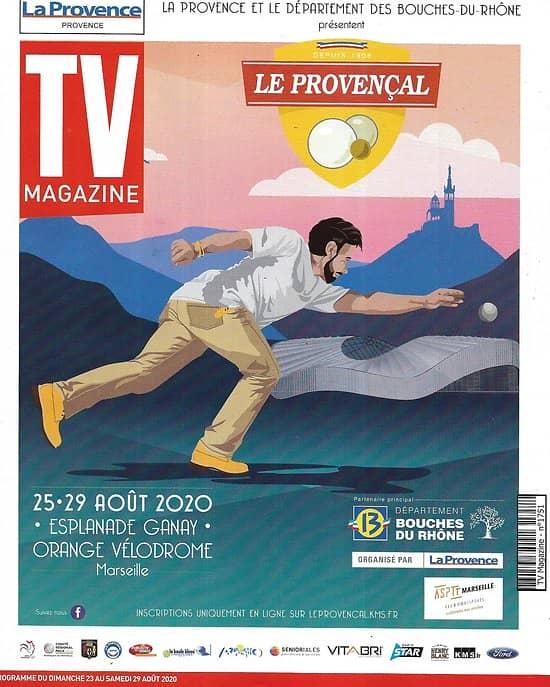 "TV MAGAZINE 23/08/2020 n°1751  Denis Brogniart/ Cyril Lignac/ ""Big Little Lies""/ Apolline de Malherbe/ Hervé Mathoux"