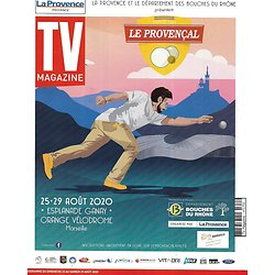 "TV MAGAZINE 23/08/2020 n°1751  Denis Brogniart/ Cyril Lignac/ ""Big Little Lies""/ Apolline de Malherbe/ Hervé Mathoux"