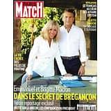 PARIS MATCH N°3720 20/08/2020  Brigitte & Emmanuel Macron: dans le secret de Brégançon/ Affaire Epstein/ Juliette Binoche l'écolo/ Filles de Poutine/ Raphaël Enthoven