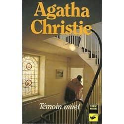 """Témoin muet"" Agatha Christie/ Club des Masques/ Etat correct/ Livre poche"