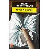 """Ni vue ni connue"" Mary Higgins Clark/ Bon état/ 2000/ Livre de poche"