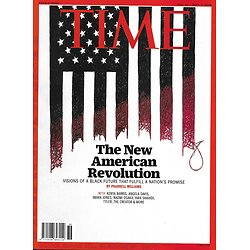 TIME VOL.196 9&10 31/08/2020  The New American Revolution: visions of a Black Future/ Kamala Harris/ Chicago/ Beirut/ Kindness/ When the virus lingers