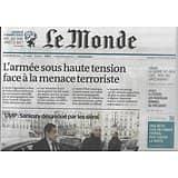 LE MONDE n°21789 05/02/2015  L'armée sous tension/ Antiterrorisme/ Sarkozy désavoué/ Universités & grandes écoles