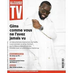 "TV MAGAZINE 20/09/2020 n°1755  Maître Gims/ Nicolas Canteloup/ ""Black Panther""/ Bien choisir sa literie"