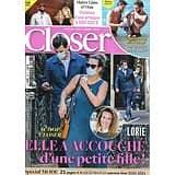 CLOSER n°796 11/09/2020  Lorie/ Maître Gims & Vitaa/ Christophe Beaugrand/ Beyoncé & Jay-Z/ Eva Longoria/ Spécial Mode