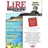 LIRE MAGAZINE LITTERAIRE n°487 juillet-août 2020  60 livres pour l'été/ Alexandre Dumas/ Destination Naples/ Bernard Minier/ Jean-Christophe Rufin