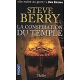 """""""La conspiration du temple"""" Steve Berry/ Bon état d'usage/ Livre poche"""