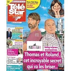 """TELE STAR n°2295 26/09/2020  """"Plus belle la vie""""/ Bertrand-Kamal/ Katherine Heigl/ Demi Moore/ Cyril Viguier/ Claire Keim"""