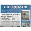 """LE FIGARO n°23667 27/09/2020  Attentat près de """"Charlie Hebdo""""/ Epidémie: fronde des élus locaux/Comment réinventer le voyage?/ Envolée de la dette/ S'installer à la campagne"""
