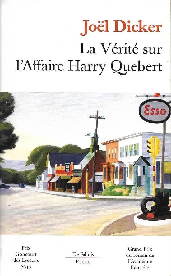 """""""La Vérité sur l'Affaire Harry Québert"""" Joël Dicker/ Bon état/ Livre poche"""