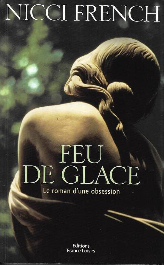 """""""Feu de glace"""" Nicci French/ Très bon état/ 2000/ Livre grand format"""
