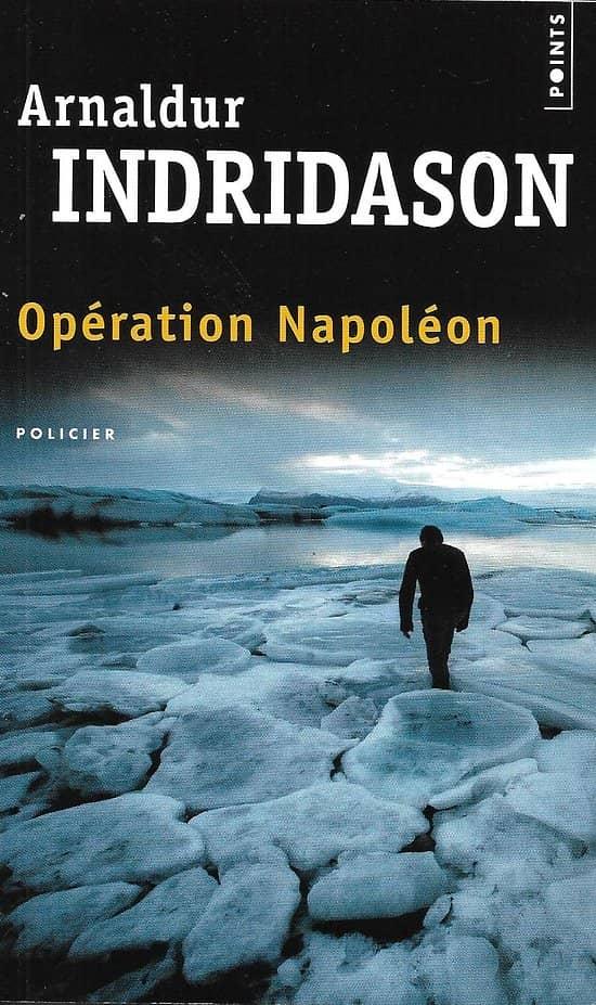 """""""Opération Napoléon"""" Arnaldur Indridason/ Très bon état/ 2016/ Livre poche"""