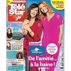 """TELE STAR n°2296 03/10/2020  """"Demain nous appartient"""" Anne Caillon & Ingrid Chauvin/ Daniel Auteuil/ Jean-Marc Généreux/ Camille Raymond/ """"Koh-Lanta"""""""