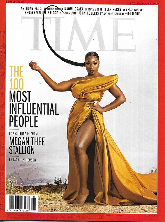 TIME VOL.196 13&14 05/10/2020  The 100 Most Influential People: Megan Thee Stallion, Ruth Bader Ginsburg, Anthony Fauci and more