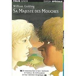 """""""Sa Majesté des Mouches"""" William Golding/ Bon état/ Livre poche"""