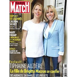 PARIS MATCH n°3727 08/10/2020  Tiphaine Auzière, fille de Brigitte Macron/ Dupont de Ligonnès/ Mary Trump/ Fashion weeks