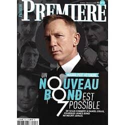 "PREMIERE n°13HS oct.-nov; 2020  James Bond ""Mourir peut attendre"" Daniel Craig/ Ian Fleming/ la saga 007/ Sean Connery"
