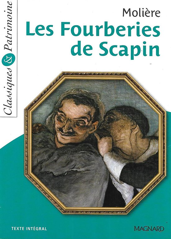 """""""Les fourberies de Scapin"""" Molière/ Comme neuf/ Livre poche"""