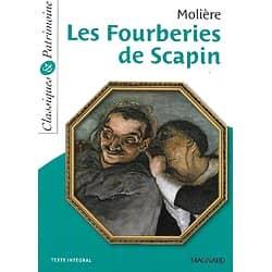 """""""Les fourberies de Scapin"""" Molière/ Classiques & Patrimoine/ Magnard/ Comme neuf/ Livre poche"""