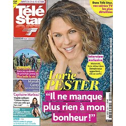 TELE STAR n°2299 24/10/2020  Lorie Pester/ Virginie Ledoyen/ Mariah Carey/ Victor Hugo/ Hélène Ségara/ Donald Trump