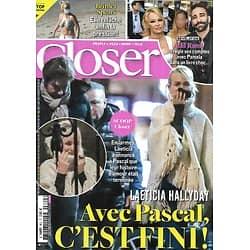 CLOSER n°802 23/10/2020  Laeticia Hallyday/ Adil Rami/ Britney Spears/ Louane Emera/ Marlène Schiappa/ Puff Daddy