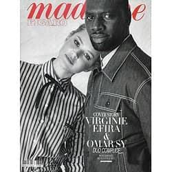 MADAME FIGARO n°23518 (n°1857) 27/03/2020  Virginie Efira & Omar Sy/ Retour du jean/ Révolte des chiliennes/ Stars & confinement