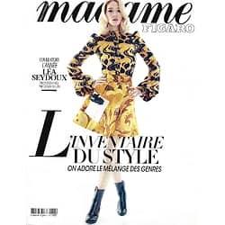 MADAME FIGARO n°23506 (n°1855) 13/03/2020  L'année Léa Seydoux/ Dîner pré-Oscars: stars d'Hollywood/ L'artiste Christo