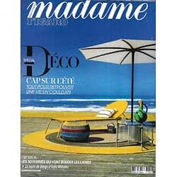MADAME FIGARO n°23536 (n°1860) 17/04/2020  Spécial Déco: cap sur l'été/ India Mahdavi/ 30 femmes qui innovent