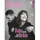 TELERAMA n°3695 07/11/2020  Etienne Daho & Jane Birkin/ Les hic de l'école numérique/ Culture verte/ Santé et politique