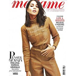 MADAME FIGARO n°23548 (n°1862) 02/05/2020  Leïla Bekhti, passionnée/ Penser demain/ Haute joaillerie/ Grégoire Delacourt