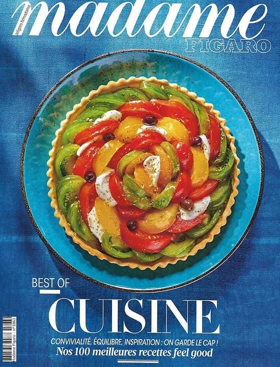 MADAME FIGARO n°23553 (n°1863) 08/05/2020  Best of Cuisine: Nos 100 meilleures recettes feel good