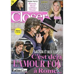 CLOSER n°804 06/11/2020  Laeticia Hallyday & Jalil Lespert/ Brigitte Macron/ Loana/ Sean Connery/ Interview de Jude Law