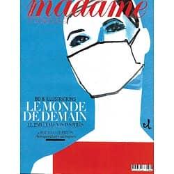 MADAME FIGARO n°23559 (n°1864) 15/05/2020  Le monde de demain, BD/ Célébrités masquées/ Emmanuelle Béart/ Edgar Morin