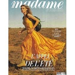 MADAME FIGARO n°23571 (n°1866) 29/05/2020  L'appel de l'été: La France grandeur nature/ Hanna Verhees/ Edgar Ramirez/ Adèle Van Reeth/ L'emprise du digital