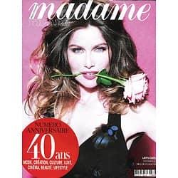 MADAME FIGARO n°23583 (n°1868) 12/06/2020  Laetitia Casta/ Numéro anniversaire: 40 ans, 1980-2020/ Métamorphoses stars/ Dominique Issermann