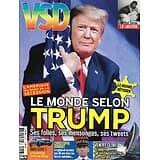 VSD n°2156 novembre 2020  Le monde selon Trump/ Vendée Globe/ Michel Simon/ Martin Fourcade/ Spécial îles françaises/ Melody Gardot/ Maxime Chattam