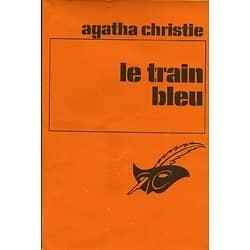 """""""Le train bleu"""" Agatha Christie/ Le Masque/ Etat passable/ 1979/ Livre poche"""