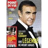 POINT DE VUE n°3768 04/11/2020  Sean Connery, une légende ne meurt jamais/ Marc Levy/ Pierre Casiraghi/ Famille royale de Norvège