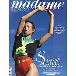 MADAME FIGARO n°23595 (n°1870) 26/06/2020  Spécial maillots/ Spécial Vins d'été/ Rééducation sensuelle/ Emmanuelle Devos/ Un été durable/ Olivier Saillard