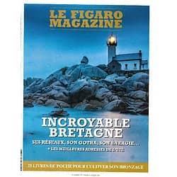 LE FIGARO MAGAZINE n°23601 03/07/2020  Incroyable Bretagne/ Côtes du Finistère Nord/ Service militaire/ Cow-boys de Patagonie/ Spécial livres de poche
