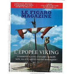 LE FIGARO MAGAZINE n°23625 31/07/2020  L'épopée Viking/ Besnier, industriel discret/ Spirou/ Un été en Bourgogne/ Une caravane vers le Shangri-La
