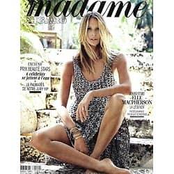 MADAME FIGARO n°23607 (n°1872) 10/07/2020  Elle Macpherson, la légende/ Stars aquachics!/ L'été gourmet de Lignac