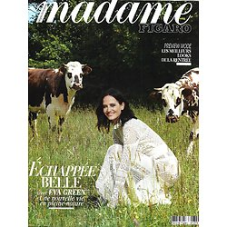MADAME FIGARO n°23619 (n°1874) 24/07/2020  Eva Green, échappée belle/ Meghan & Harry/ Justine Dupont/ Shirley Clarke