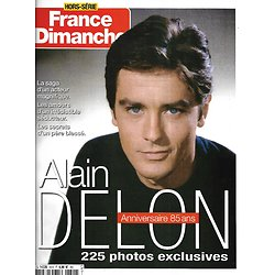 FRANCE DIMANCHE n°40H novembre 2020  Alain Delon, anniversaire 85 ans, 225 photos exclusives