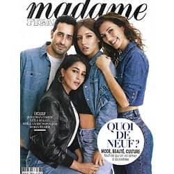 MADAME FIGARO n°23642 (n°1878) 21/08/2020  Jonathan Cohen, LeÏla Bekhti, Adèle Exarchopoulos & Doria Tillier/ Quoi de neuf à la rentrée?