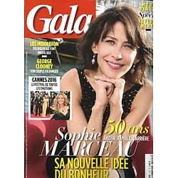 GALA n°1197 18/05/2016  Sophie Marceau/ Cannes 2016/ George Clooney/ Les Middleton/ Romain Sardou/ Jennifer Lawrence/ Sophie Kinsella/ Spécial fête des mères