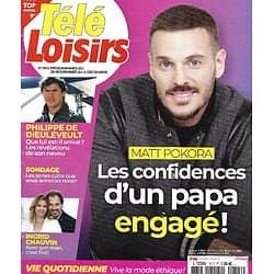 "TELE LOISIRS n°1813 28/11/2020  Matt Pokora/ Philippe de Dieuleveult/ Ingrid Chauvin/ Jean-Paul Belmondo/ ""Koh-Lanta"" la finale"