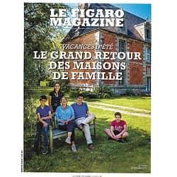 LE FIGARO MAGAZINE n°23607 10/07/2020  Le grand retour des maisons de famille/ Joe Biden/ William Turner/ Immersion dans Zurich/ Dévotion pour le Tsar