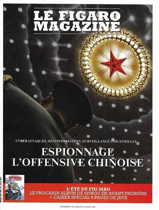 LE FIGARO MAGAZINE n°23613 17/07/2020  Espionnage: l'offensive chinoise/ Un été en France: la Normandie/ Dacca, l'atelier du monde