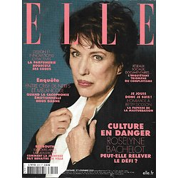 ELLE n°3910 27/11/2020  Roselyne Bachelot/ Culture en danger/ Beyrouth/ Nicola Sirkis & Christine/ Complotisme/ Betty Dodson